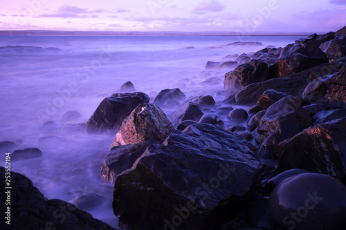 Fototapety, obrazy: Sunset on the rocks