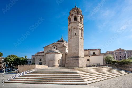 Cattedrale di Santa Maria - Oristano - Sardegna Canvas Print