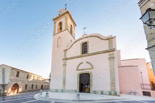 Fotografie, Obraz Chiesa  - Ussaramanna - Sardegna