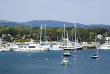 View Of Southwest Harbor And C...