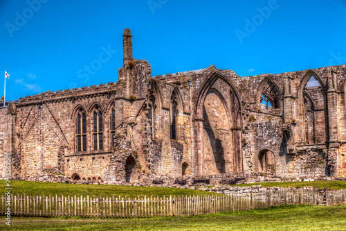 Bolton Abbey,ruin of the 12th-century Augustinian monastery in North Yorkshire,Great Britain Canvas Print