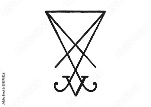 Photo  A sigil of Lucifer