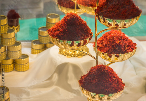 Saffron - Indian spice in Dubai market - Buy this stock