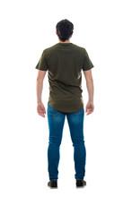 Rear View Male Full Length