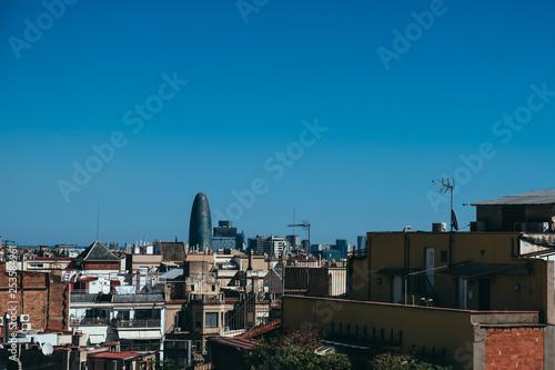 Fotografia, Obraz  Panorama sur la ville de Barcelone