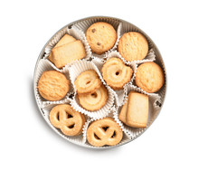 Box With Danish Butter Cookies...