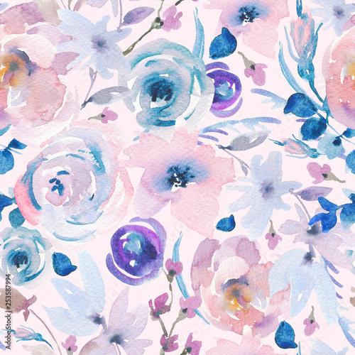 delikatny-wzor-kwiatowy-akwarela-w-stylu-la-prima-rozowe-roze-akwarela