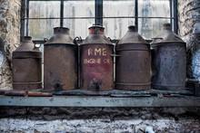 Train Oil Drums