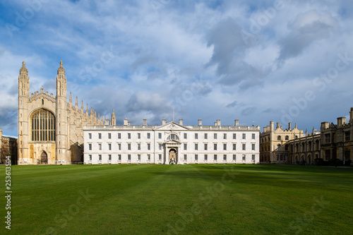 The famous King's College in Cambridge, UK Canvas Print