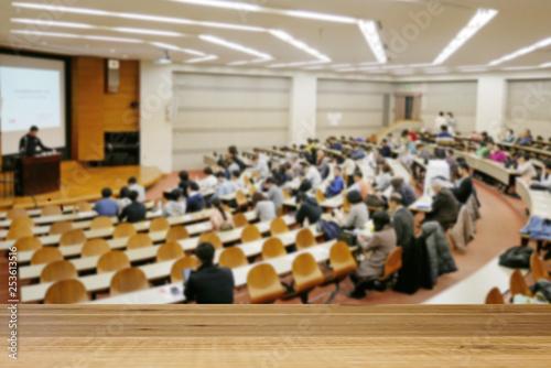 Photo 大学の教室