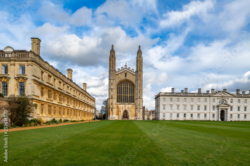The famous King's College in Cambridge, UK Wallpaper Mural