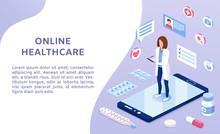 Online Medicine Healthcare Iso...