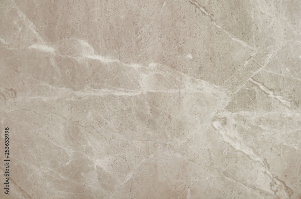 Fototapety, obrazy: Brown or beige marble stone background. Brown marble,quartz texture backdrop. Wall and panel marble natural pattern for architecture and interior design or abstract background.Soft focus image.