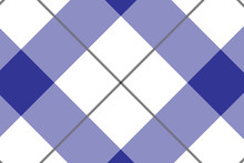 Blue And White Tablecloth Patt...