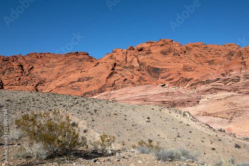 Red Rock Canyon, Nevada, USA.