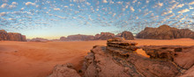 Little Rock Bridge At Wadi Rum...