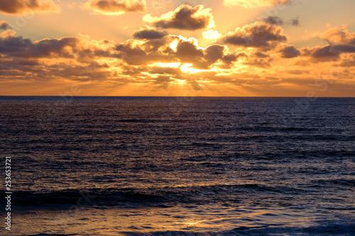 Cape Paterson, Australia at sunset