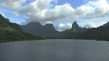 Moorea Opunohu Bay Mount Rotui