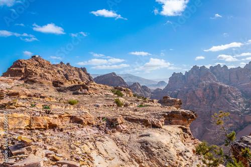 Wadi Araba in Petra, Jordan