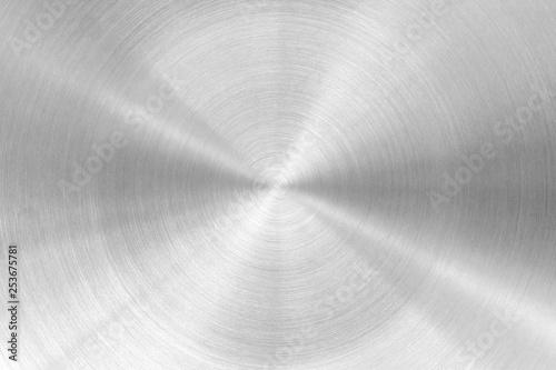 Türaufkleber Metall metal background or texture and gradients shadow.