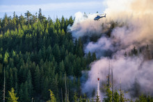 Helicopter Fighting BC Forest ...