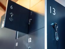 Lockers With Key In Locker Roo...