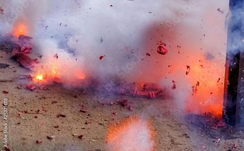 Explosions de pétards Slika na platnu