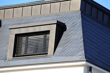 Slate Roof With Dormer