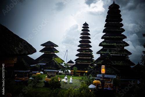 Pura Besakih, Bali, Indonesia Canvas Print