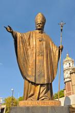 Statue Of Pope John Paul II Ne...