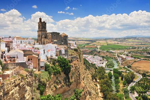 Arcos de la Frontera, Cadiz Province, Andalucia, Spain. Wallpaper Mural