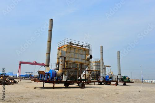 Fotografía  Shipyards, machinery and equipment