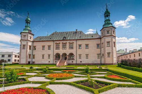 Baroque castle, Bishop s Palace in Kielce, Poland, Europe. Wallpaper Mural