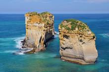 Landscape Along The Great Ocean Road, Port Campbell National Park, Victoria, Australia.