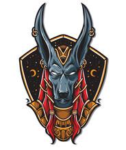 Anubis Logo Vector