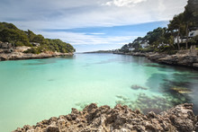 The Bay Of Cala D'Or In Mallorca, Spain