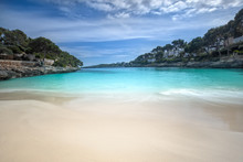 The Bay Of Cala D'Or In Mallor...