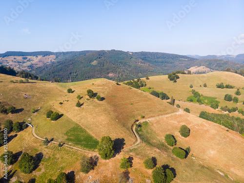 Foto  Luftaufnahme Schwarzwald, Deutschland