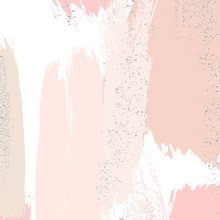 Watercolor Brush Strokes With ...