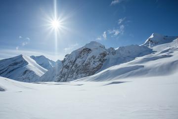 Raj na nartach w austriackich Alpach