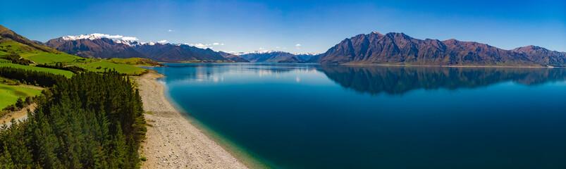 Panoramic photos of Lake Ha...