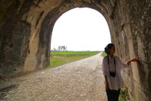 Woman Traveling To Ho Citadel ...