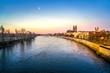 Magdeburg am frühen Morgen