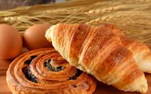 Fresh Bread Danish And Croissa...
