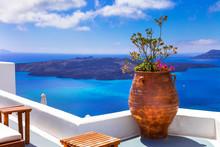 Amazing And Unique Santorini. Greece