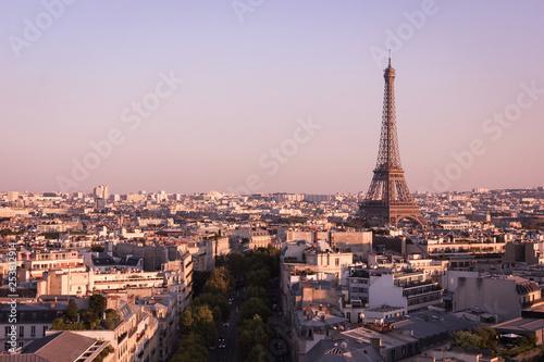 Poster de jardin Paris Tour Eiffel
