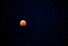 Full Blood Moon Lunar Eclipse