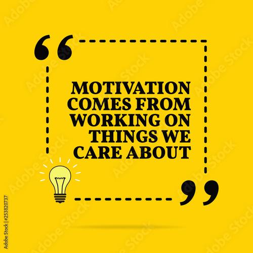 Fototapeta  Inspirational motivational quote