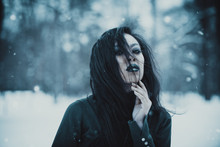 Asian Gothic Goth Girl