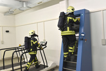 Two Firefighters With Respirat...